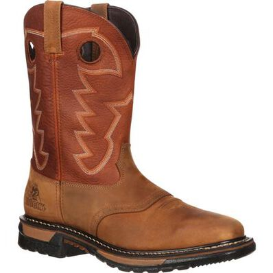 Rocky Original Ride Waterproof Western Boot, , large