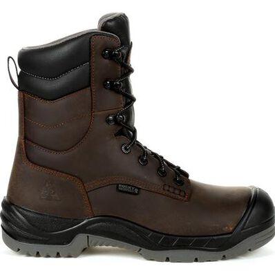 Rocky Worksmart 8 In Composite Toe Waterproof Work Boot, , large