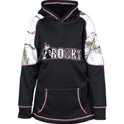 Rocky Girls' Logo Fleece Hoodie, , large