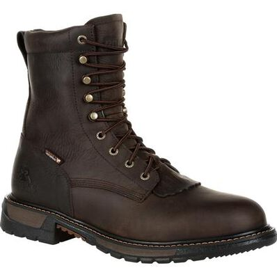Rocky Original Ride FLX Lacer Waterproof Western Boot - Web Exclusive, , large