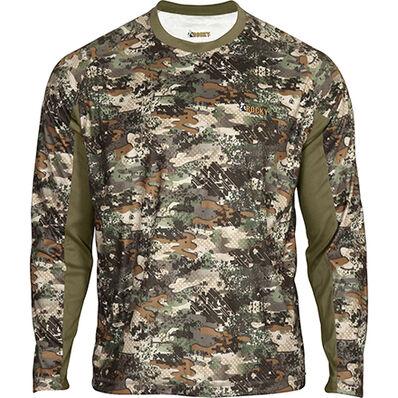 Rocky SilentHunter Long-Sleeve Scent IQ Shirt, Rocky Venator Camo, large