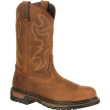 Rocky Original Ride Branson Steel Toe Waterproof Western Boots