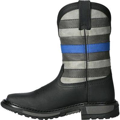 Rocky Blue Line Big Kid Western Boot, , large