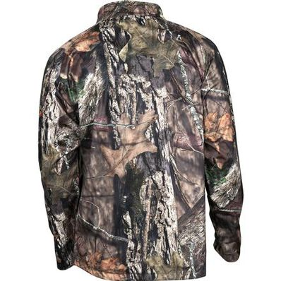 Rocky SilentHunter Waterproof Wind Shirt, Mossy Oak Country, large