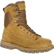 "Rocky Portland 8"" Coyote Brown Public Service Boot"