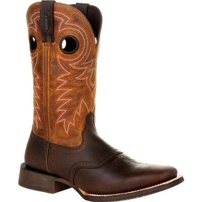 Rocky Dakota Ridge Pull-On Western Boot, , large