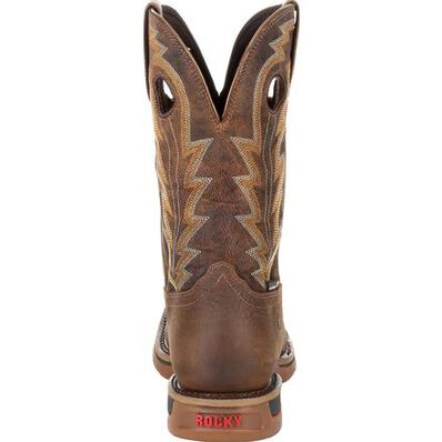 """Rocky Long Range 11"""" Waterproof Western Boot, , large"""