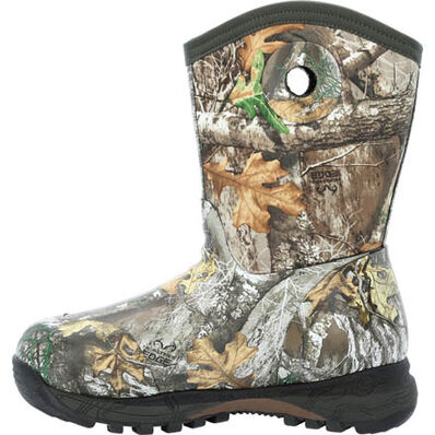 Rocky Spike Big Kid Waterproof 400G Insulated Rubber Boot, , large