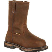 Rocky IronClad Internal Metatarsal Steel Toe Pull-On Work Boot - Web Exclusive