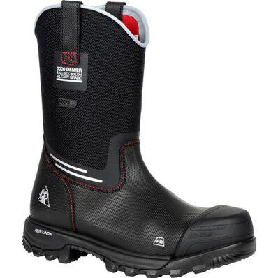 Rocky XO-Toe Composite Toe PR Waterproof Pull-on Work Boot, , large