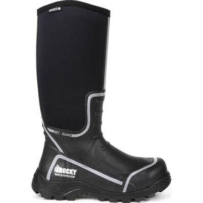 Rocky Sport Pro Waterproof Steel Toe Met Guard Rubber boot, , large