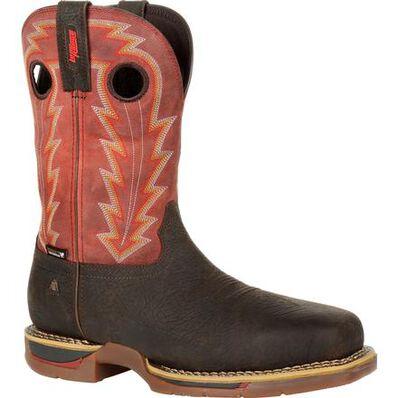 Rocky Long Range Composite Toe Waterproof Western Boot, , large