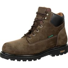 Rocky 6-in Waterproof Lace Up Work Boot