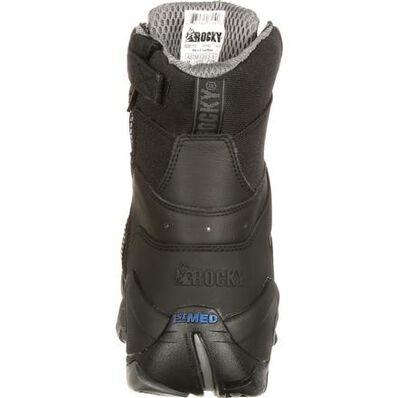 Rocky 1st Med Carbon Fiber Toe Puncture-Resistant Side-Zip Waterproof Public Service Boot, , large