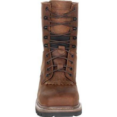 Rocky Square Toe Logger Composite Toe Waterproof Work Boot, , large