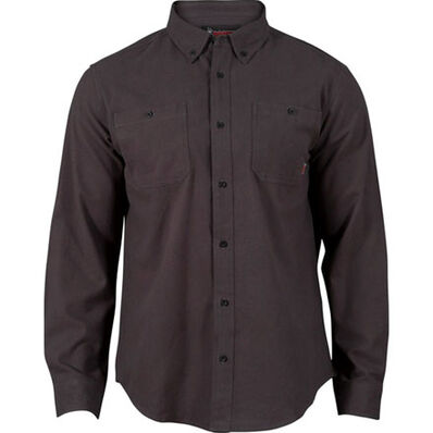 Rocky Worksmart Button Down Work Shirt - Web Exclusive, Cobalt, large