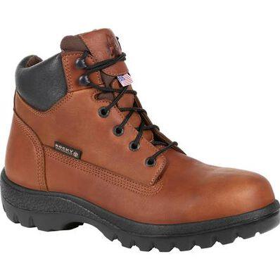 Rocky® USA Worksmart Steel Toe Waterproof Work Boot, , large