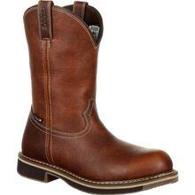 Rocky Cody Steel Toe Waterproof Pull-On Western Boot