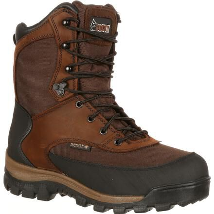Waterproof Insulated Outdoor Boot with