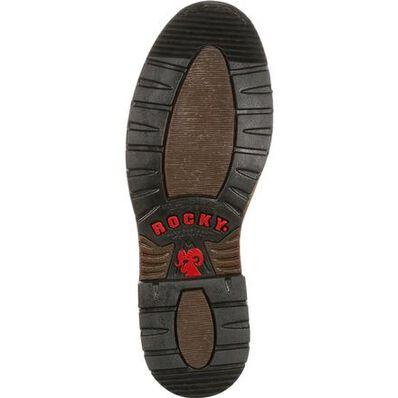 Rocky Original Ride Steel Toe Waterproof Lacer Western Boot, , large