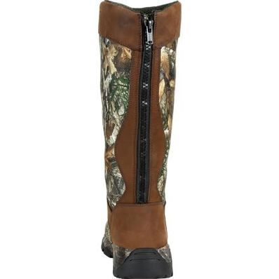Rocky Red Mountain Waterproof Back Zip Snake Boot, , large