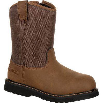 Rocky Big Kids' Lil Ropers Outdoor Boot, , large