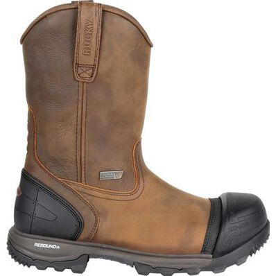 Rocky XO-Toe Composite Waterproof Pull-On Work Boot, , large