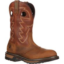 Rocky Original Ride Branson Saddle Roper Western Boot