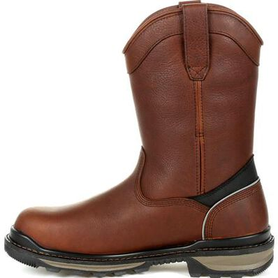Rocky Rams Horn 400G Insulated Waterproof Composite Toe Pull-On Work Boot, , large