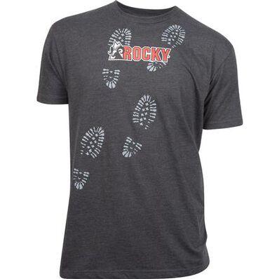 Rocky Men's Bootprint T-Shirt, , large