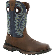 Rocky Carbon 6 Waterproof Pull-On Western Boot