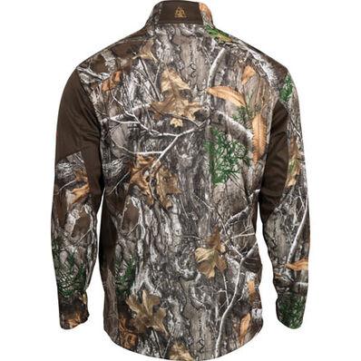 Rocky SilentHunter 1/4 Zip Shirt, Realtree Edge, large