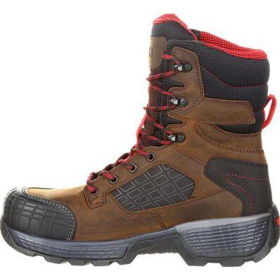 "Rocky Treadflex Composite Toe Waterproof 8"" Work Boot, , large"