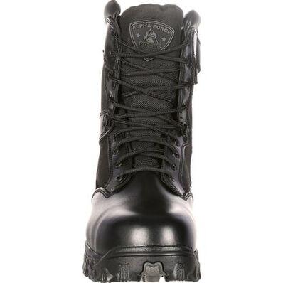 Rocky Alpha Force Zipper Waterproof Public Service Boot, , large