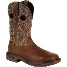 Rocky Original Ride FLX Steel Toe Waterproof Western Boot