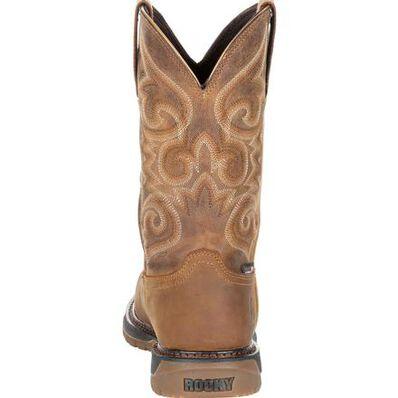 Rocky Original Ride FLX Women's Composite Toe Waterproof Western Boot, , large