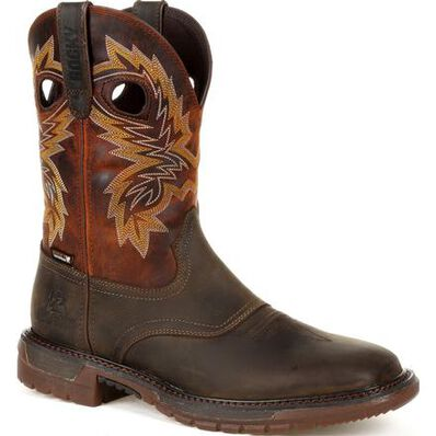 Rocky Original Ride FLX Waterproof Western Boot - Web Exclusive, , large