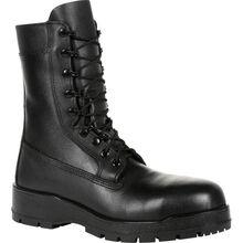 "Rocky Navy Inspired 9"" Steel Toe Boot"