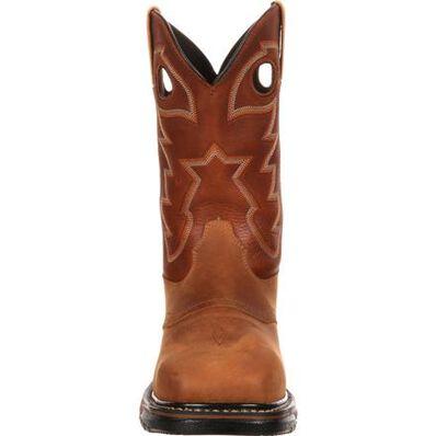 Rocky Original Ride Steel Toe Waterproof Western Boot, , large