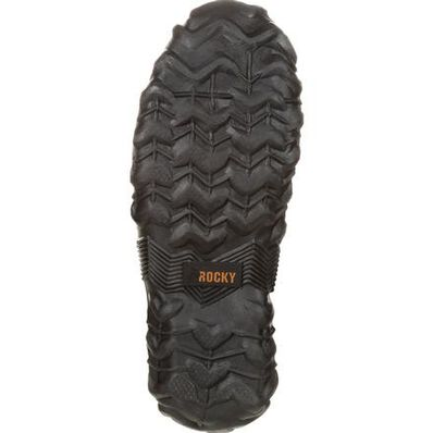 Rocky Core Black Rubber Waterproof Outdoor Boot, , large