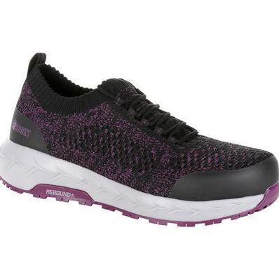 Rocky Women's WorkKnit LX Alloy Toe Athletic Work Shoe, , large