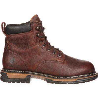 Rocky IronClad Steel Toe Waterproof Work Boots, , large