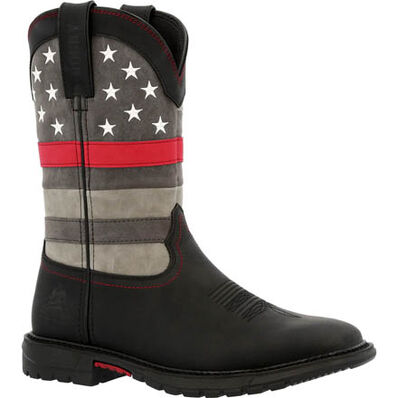 Rocky Red Line Women's Western Boot, , large