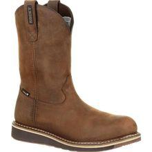 Rocky Cody Steel Toe Waterproof Brown Western Boot