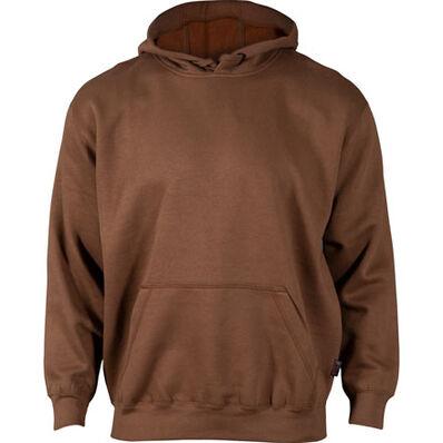 Rocky Worksmart Hooded Sweatshirt - Web Exclusive, BROWN, large