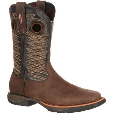Rocky LT Steel Toe Western Boot, , large