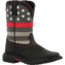 Rocky Red Line Big Kid Western Boot