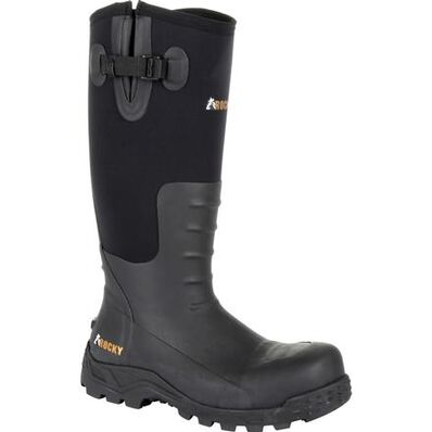 Rocky Sport Pro Steel Toe Rubber Work Boot, , large