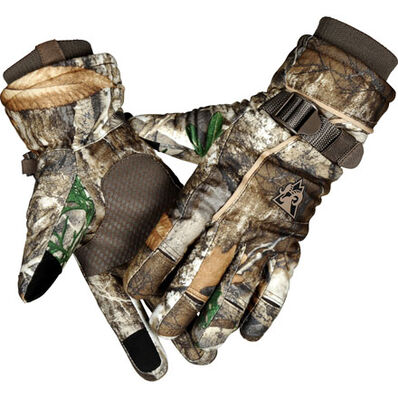 Rocky Women's Waterproof 60G Insulated Gloves, Realtree Edge, large