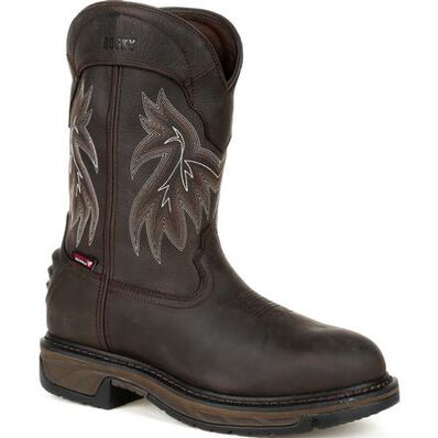Rocky Iron Skull Waterproof Western Boot - Web Exclusive, , large